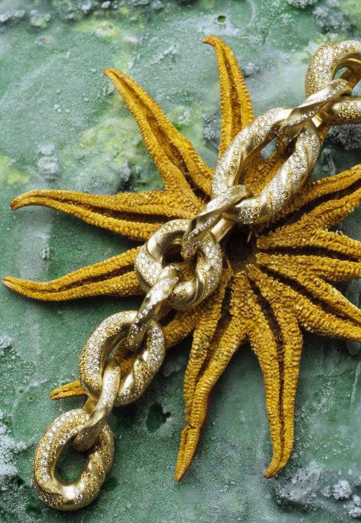 Alta gioielleria Made in Italy - bracciale - oro giallo - diamanti - pietre preziose