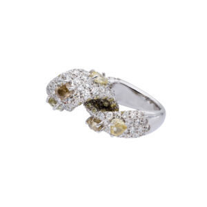 d'Avossa Ring with White and Fancy Natural Diamonds (12)