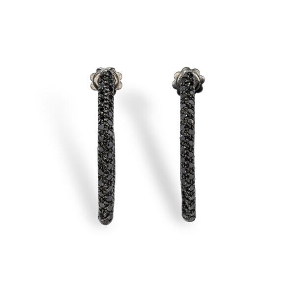Black Diamonds d'Avossa Earrings