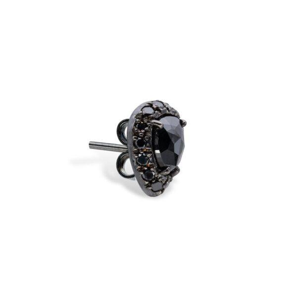 Black Diamonds Earrings d'Avossa 8