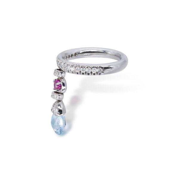 d'Avossa Ring with blue topaz, pink Sapphire, white Diamonds (5)